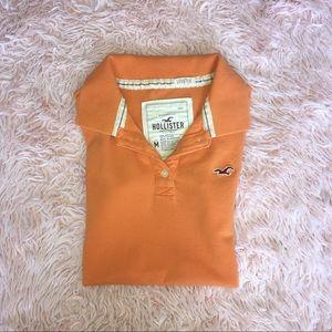 Hollister Orange Polo Shirt🧡